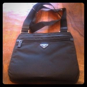 REDUCED Prada messenger bag