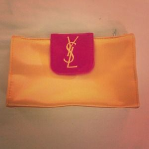 Cute YSL make up bag