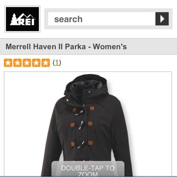40 Off Merrell Outerwear Merrell Haven Ii Parka From