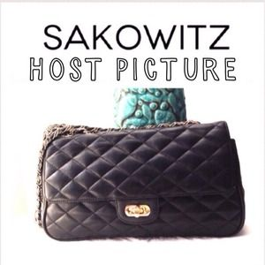 🎉🎊HOST PIC 02-12 PARTY🎉🎊SAKOWITZ BLACK leather