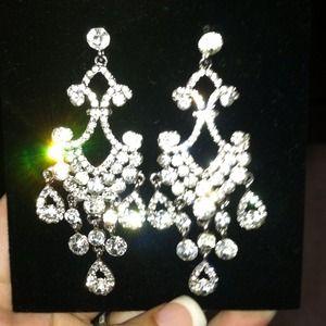 Vintage inspired chandelier earrings