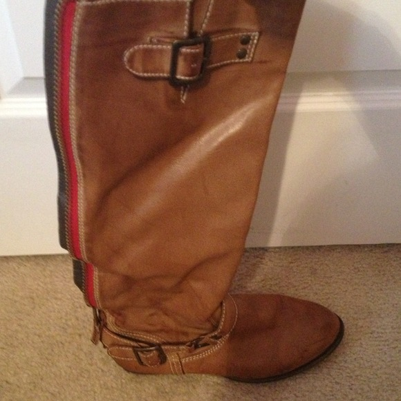 Steve Madden look alike riding boots 7 from Claire's closet on ...