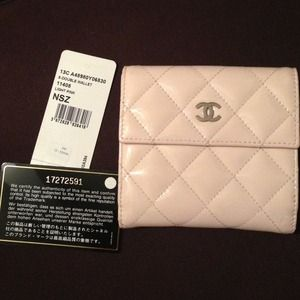 baby pink chanel purse