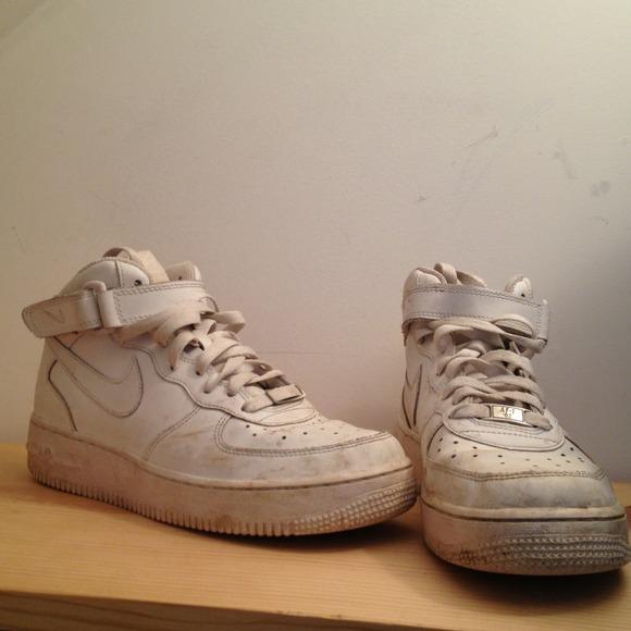 Nike Air Air Force 1 De Blanc Sale