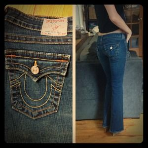 True Religion Denim - REDUCED True Religion Flared Jeans