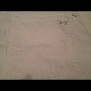 Habitual Tory Burch white jeans reduced from $60