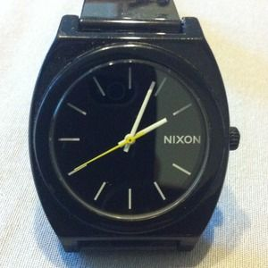 Black Nixon Watch