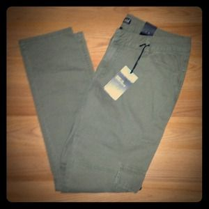 Ana Pants - Cargo Green Skinnies