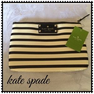 Kate Spade Flicker Little Gia, Black & Cream