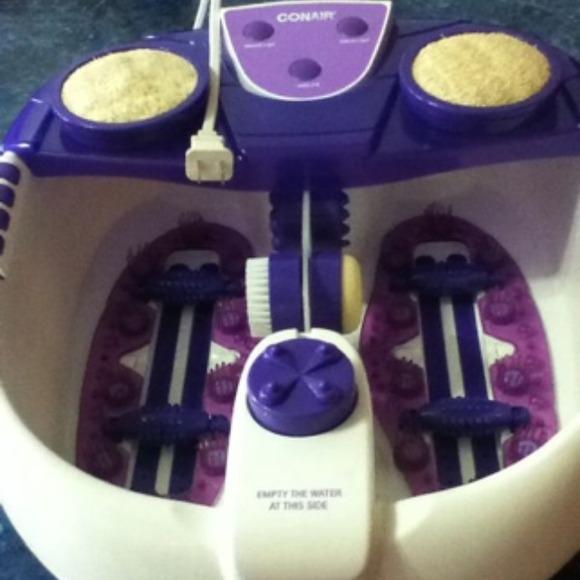 58% off Conair Accessories - Conair water-jet foot spa / pedicure ...
