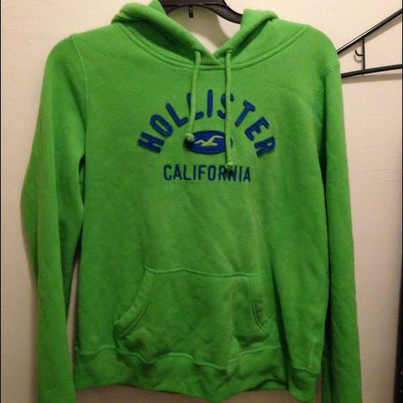 Hollister Sweaters Co Girls Green Pullover Hoodie Poshmark