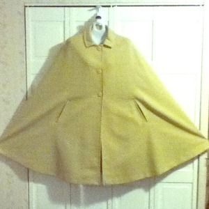 Authentic Vintage  pastel green cape