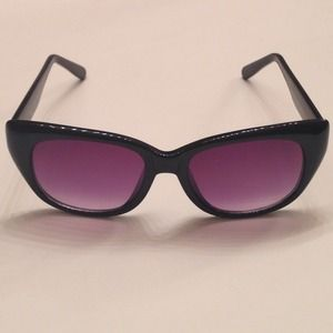 Topshop cat eye sunglasses.