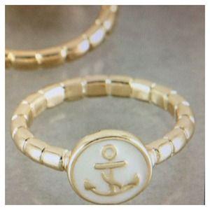 White anchor ring