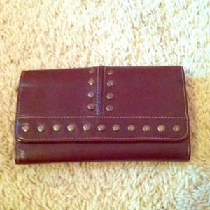 Clutches & Wallets - Studded wallet