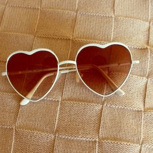 Accessories - Heart Frame Sunglasses