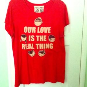 Harajuku Lovers Real Thing Shirt