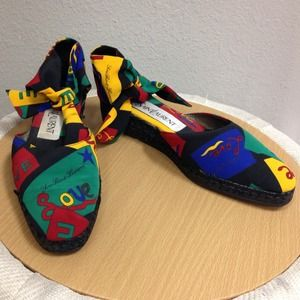 Yves Saint Laurent Shoes - YSL Colorful Espadrilles Size 9