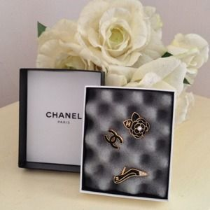 chanel broche pins bijou brand new