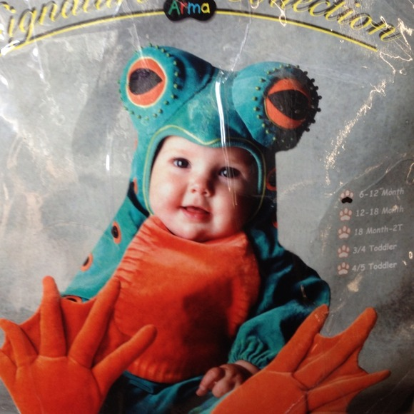 Halloween like new baby frog costume  sc 1 st  Poshmark : baby frog halloween costumes  - Germanpascual.Com