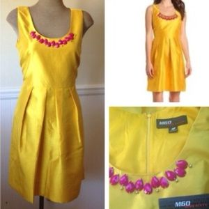 NEW Miss Sixty Yellow Dress