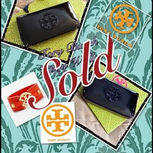 %Authentic Tory Burch Zippy Wallet