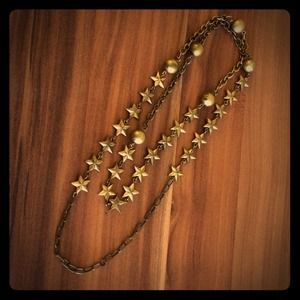 Star brass necklace 🌟