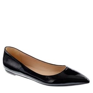 The essential black J.Crew flat.
