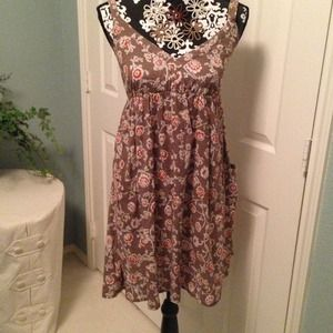 Adorable brown boho chic dress!!