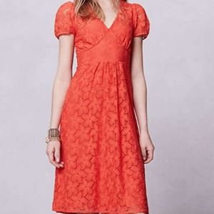 Anthropologie Dogflora Midi Dress