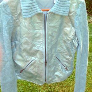 NWOT: Glam Baby Blue Jacket