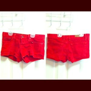 Red Lucky brand shorts