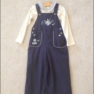 NWT blue Mickey pants jump suit in size 24months