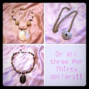Reduced Three necklaces