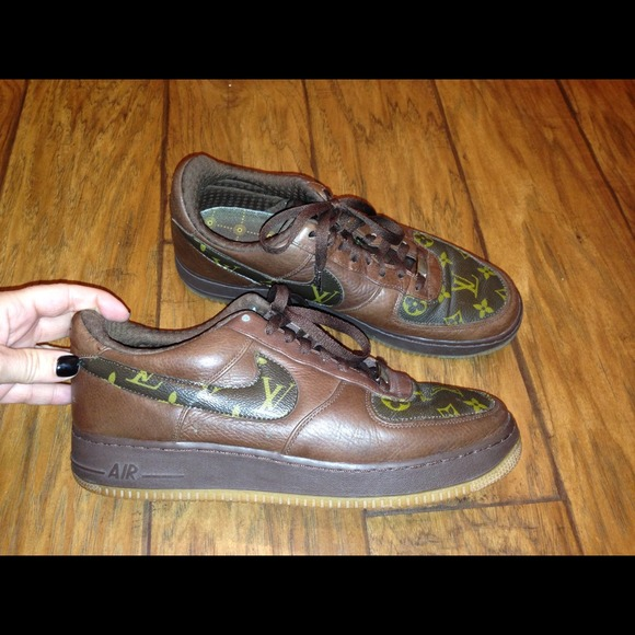 NIKE Air Force 1 LOUIS VUITTON sneakers.leather 11