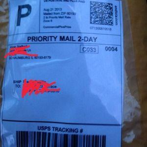 Shipped!
