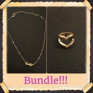 ✂REDUCED✂ Ring and Necklace Bundle! ✂REDUCED✂