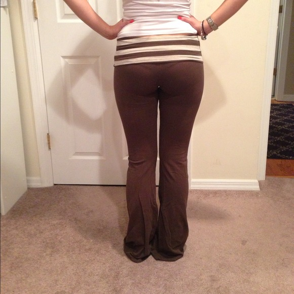 92% off So Low Pants - Brown SoLow Yoga Pants from ! carolyn's ...