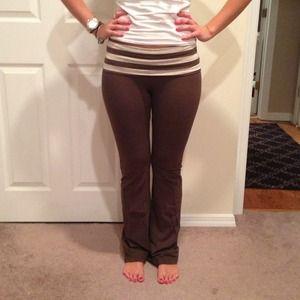 brown yoga pants - Pi Pants
