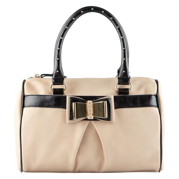 14 Off Aldo Handbags Aldo Kahele Pink Black Bow Stud