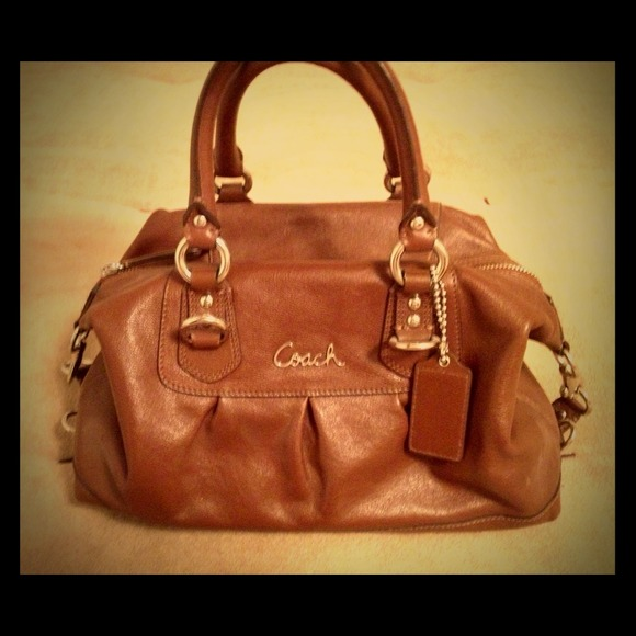 Featured on the Poshmark Blog -Authentic Coach Bag