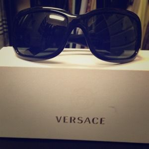 Versace black sunglasses - price reduction! 