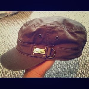 8c8f47aa7a3 Calvin Klein Accessories - ❌SOLD❌Calvin Klein Military style hat