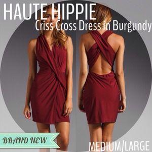 HAUTE HIPPIE Criss Cross Dress