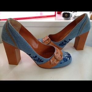 DIOR Vintage pumps size 40 denim