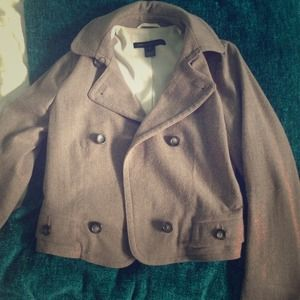 Brown Marc Jacobs pea coat!