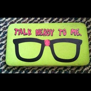 Clutches & Wallets - Talk nerdy to me wallet