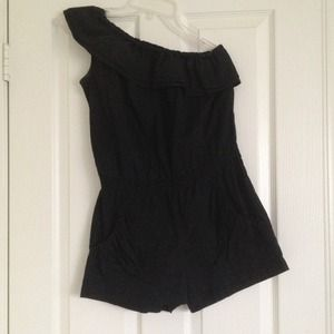 Other - One shoulder romper