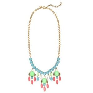 Jcrew collage statement necklace