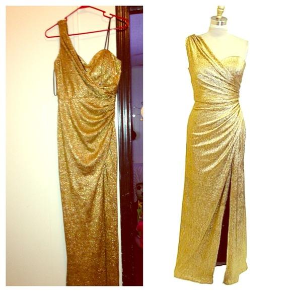 Xscape Dresses Gold